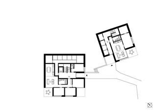 Hanggeschoss Wohnensemble in Erlenbach  von wild bär heule architekten ag