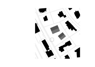Situationsplan Wohnensemble in Erlenbach  von wild bär heule architekten ag