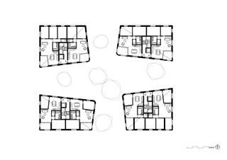 Dachgeschoss Geviert - Wohnüberbauung in Näfels von wild bär heule architekten ag