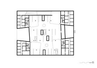 Gemeinsame Tiefgarage Geviert - Wohnüberbauung in Näfels von wild bär heule architekten ag