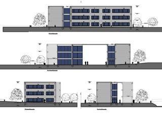 Fassaden Erweiterung Schulhaus Feld Suhr von hohl partner ag