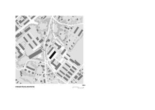 Situationsplan Haute école de gestion de Genève von Brauen Wälchli Architectes