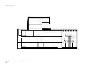 UW_Schnitt1 Neubau Unterwerk Neuwiesen von Graf Biscioni Architekten AG/SIA