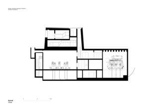 UW_Schnitt2 Neubau Unterwerk Neuwiesen von Graf Biscioni Architekten AG/SIA