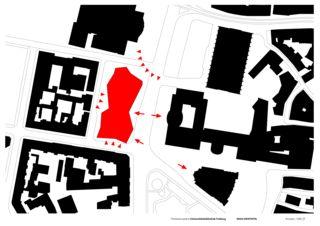 Konzeptschema Universitätsbibliothek in Freiburg von Degelo Architekten