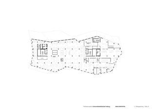 5. Obergeschoss Universitätsbibliothek in Freiburg von Degelo Architekten