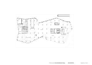 Erdgeschoss Universitätsbibliothek in Freiburg von Degelo Architekten