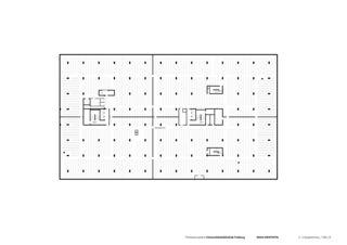 2. Untergeschoss Universitätsbibliothek in Freiburg von Degelo Architekten