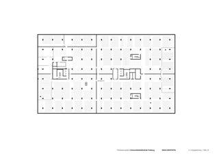 3. Untergeschoss Universitätsbibliothek in Freiburg von Degelo Architekten