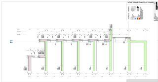 Detailschnitt B Zentrumsüberbauung Buchs von Kaundbe Architekten AG