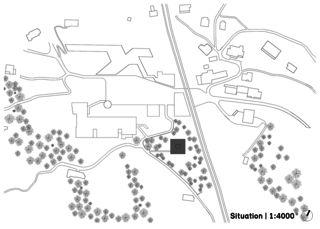 Situation 'Bellevue' Rigi Kaltbad von alp architektur lischer partner ag