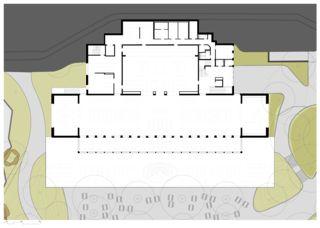 Erdgeschoss Umbau Restaurant Zoo Basel, 2015 von Flubacher Nyfeler Partner Architekten AG