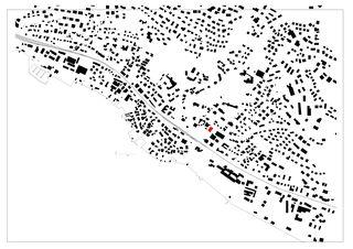 Situation Gemeindesaal von SAM Architekten und Partner AG