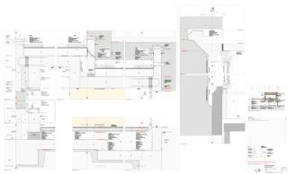 Detail 1:5 Erweiterung Schulanlage Steinboden, Eglisau von Architekturbüro<br/>
