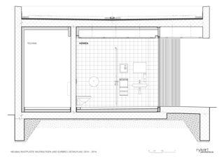 Coupe détaillée Rastplätze Wileroltigen und Gurbrü de Rykart Architekten AG