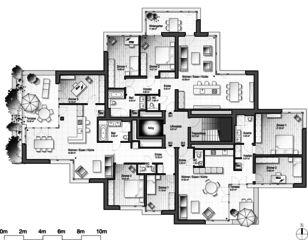 Stollturm 3. OG Panorama- und Gartenhaus im Park von Architektur Rolf Stalder AG