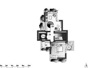 Stollturm 12e étage Panorama- und Gartenhaus im Park de Architektur Rolf Stalder AG