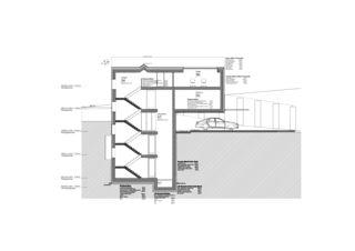 O-W Schnitt Villa Winkel von SASAKI-ARCHI-Switzerland