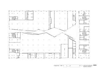 Erdgeschoss Wohnhaus am Rietpark, Baufeld C von EM2N | Mathias Müller | Daniel Niggli<br>Architekten AG | ETH | SIA | BSA