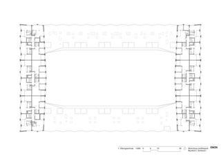 7. Obergeschoss Wohnhaus am Rietpark, Baufeld C von EM2N | Mathias Müller | Daniel Niggli<br>Architekten AG | ETH | SIA | BSA