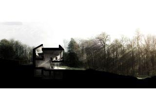SCHNITT Haus am Waldrand (casa forest) von Daluz Gonzalez Architekten