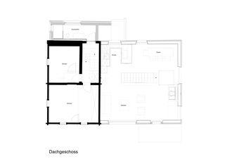 Dachgeschoss Stallumnutzung in Sporz von n a y architektur