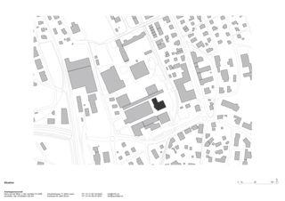 Situation Sanierung und Erweiterung Gemeindehaus Horw von ARGE Harry van der Meijs & raumfalter Architekten GmbH