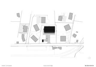 Situationsplan Hotelneubau Bever Lodge von Architektur- und Planungsbüro<br/>
