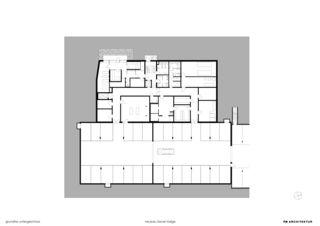 Untergeschoss Hotelneubau Bever Lodge von Architektur- und Planungsbüro<br/>