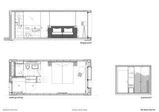 Detail Zimmermodul Hotelneubau Bever Lodge von Architektur- und Planungsbüro<br/>