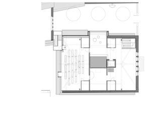 2. Obergeschoss Maison de l'Absinthe von Atelier d'Architecture Manini Pietrini Sàrl