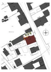 Plan de situation Maison de l'Absinthe de Atelier d'Architecture Manini Pietrini Sàrl