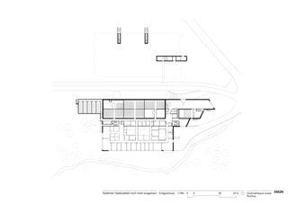 Erdgeschoss Cinémathèque suisse  von EM2N | Mathias Müller | Daniel Niggli<br>Architekten AG | ETH | SIA | BSA