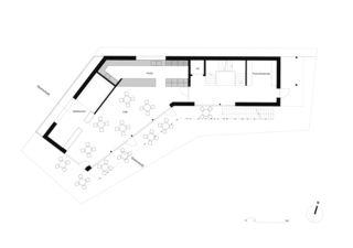 Erdgeschoss Pavillon Altdorf von CAS Architektur AG