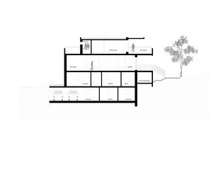 Schnitt Haus hev2 von e s a | exhibition scenography architecture