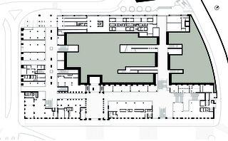 Gare de Cornavin - Plan du rez Gare de Cornavin de Itten+Brechbühl SA