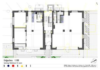 Treppenhaus grundriss mehrfamilienhaus  Total Sanierung Mehrfamilienhaus Luzern | Arc-Award