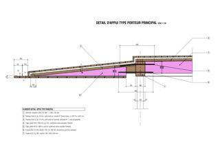 Detail 1 Meditation Pavilion & Garden von GM Architectes Associées SA