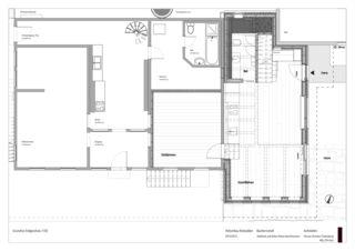 Erdgeschoss Hofumbau Rotstalden -