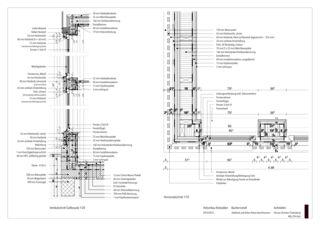 Details Hofumbau Rotstalden -