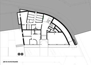 Erdgeschoss Immeuble d'habitation Minergie P Solaris von Savioz