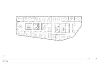 2. Obergeschoss Polyadès von Stähelin Partner Architekten (Basel) AG