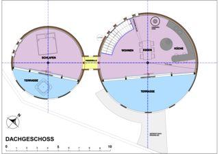 Dachgeschoss Wohnloft im Silo 8 von Atelier Fred Wittwer
