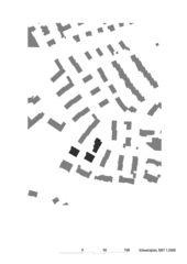 Schwarzplan 1:2000 Wohnüberbauung Steinbrüchelstrasse von ADP Architektur Design Planung AG