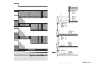 Detailschnitt 1:50 Wohnüberbauung Steinbrüchelstrasse von ADP Architektur Design Planung AG