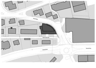 Situationsplan Immeuble d'habitation Minergie P Solaris von Savioz