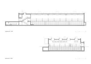 Schnitte Neubau Sporthalle Arbon von keiserwerk ag