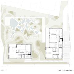 Plans Wohnüberbauung Parkweg de Bauconsilium AG