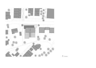 Situation Wohnprojekt Orangerie de Eglin Schweizer Architekten