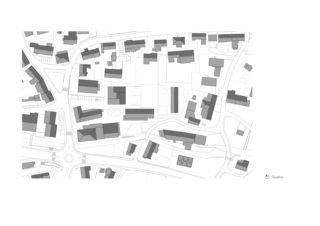 Situation Schulhaus Dorf von Eglin Schweizer Architekten